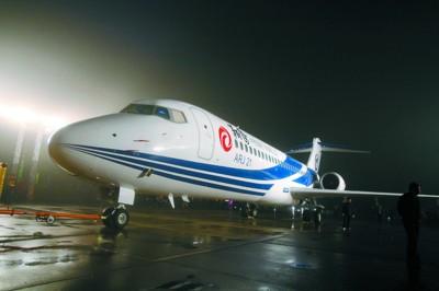 ARJ21要经过18个月运行期并得到审定后,才能向用户进行交付