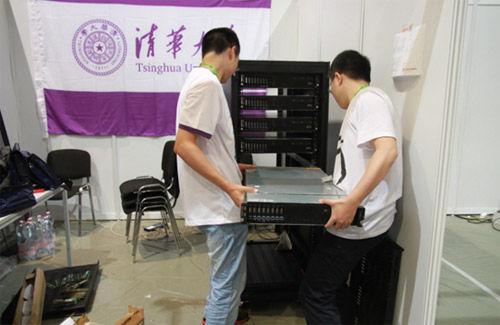 清华大学安装机器