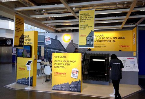 汉能户用太阳能系统在英国宜家卖场